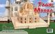 Тадж-Махал. Сборная деревянная модель.